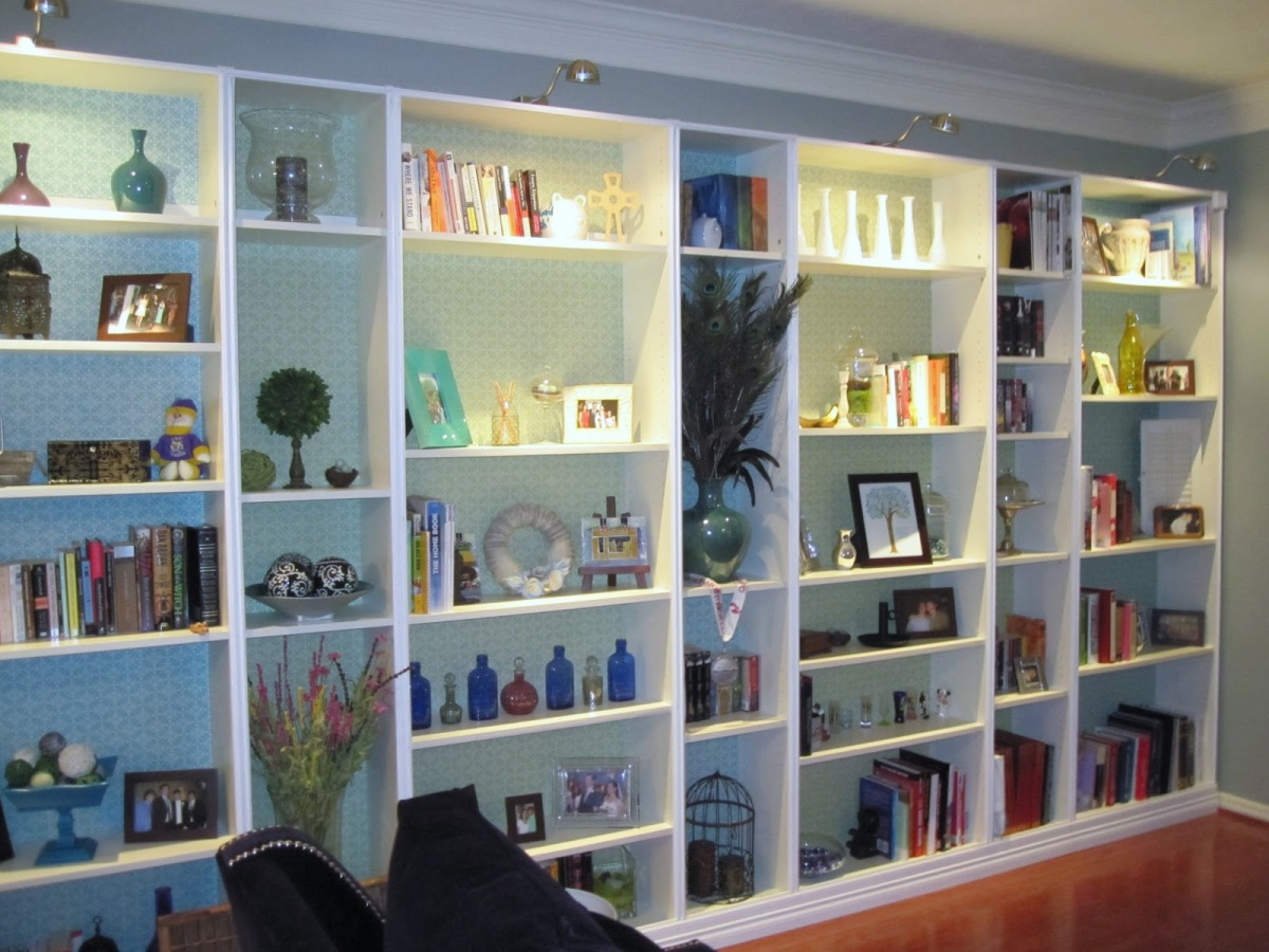 Ikea Hack: Built-in Bookshelves Tutorial