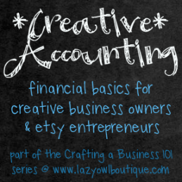 accounting for small business owners, etsy business